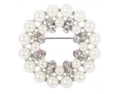 Harry's Horse Plastronspeld Crystal Pearl