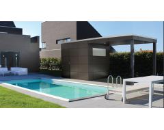 Tack Modern Tuinhuis Panama Tokyo E VG 290cm + Luifel 130cm