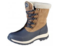 Muck Boot Arctic Lace Mid Leather Dames Beige/Navy
