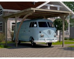 Weka Carport 606 A 300x500 cm