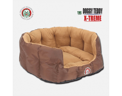 Doggy Bagg Teddy X-Treme Dog Basket - Brown Diverse Maten