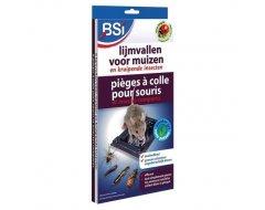 Bsi Lijmvallen voor muizen en kruipende insecten 6st