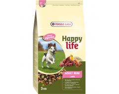 Happy Life Adult Mini met Lam 3 Kg