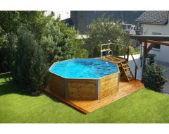 Weka Massief Houten zwembad 593