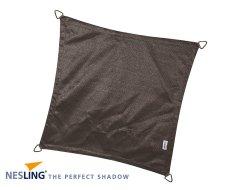 Nesling Coolfit Schaduwdoek Vierkant Antraciet 5M