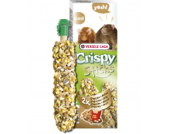Versele Laga Crispy Sticks Ratten-Muizen Popcorn & Noten