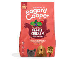 Edgard&Cooper Free-Run Chicken Senior Kip&Zalm&Broccoli - Hondenvoer -12 Kg
