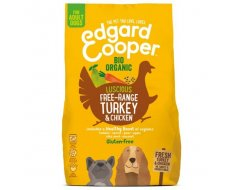 Edgard&Cooper Bio Organic Turkey Adult Kalkoen&Kip&Wortel 7 kg