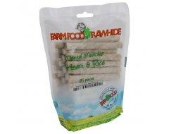 Farm Food Rawhide Dental Munchie Hart  Hondensnacks