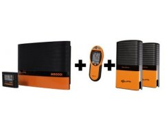 M5000i incl. 2x Afrastering Monitor (1x gratis) Plus Afstandsbediening