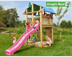 Jungle Gym Fort Met Glijbaan