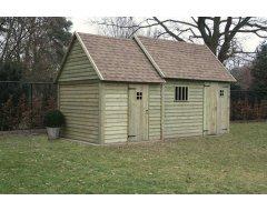 Dinowood Cottage Hoofdgebouw + Bijbouw Dicht