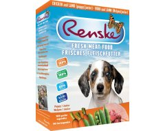 Renske Vers Hondenvoer Puppy/Junior Kip&Lam 395 gr