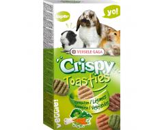 Versele Laga Crispy Toasties Groenten
