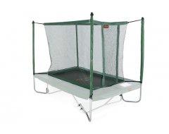 Avyna trampoline veiligheidsnet met palen 380x255 cm Groen