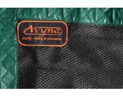Avyna Trampoline Veiligheidsnet Los Ø 365 cm Groen