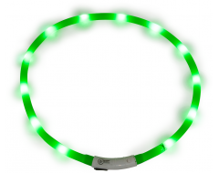 J&V Led Light Halsband Groen