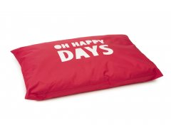 Loungekussen Happy Days Rood 100x70cm