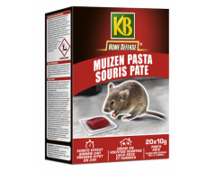KB Home Defense Ratten en Muizen Pasta 200g