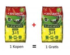 Evergreen Complete 3-in-1 Gazonmeststoffen 7,5kg + 7,5kg GRATIS