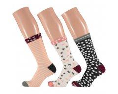 Apollo Dames Sokken in Giftbox 3-pack 36/41 Multicolor