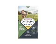 Opti life Prime Adult Granenvrije Hondenvoeding Kip 2,5kg