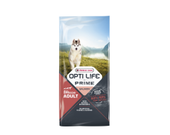 Opti life Prime Adult Granenvrije Hondenvoeding Zalm 12,5kg
